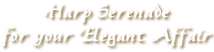 Harp Serenade for your Elegant Affair